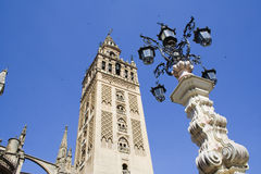Tower. La Giralda,Sevilla,Spain royalty free stock photo