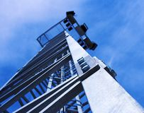 Tower. And blue sky Royalty Free Stock Photography