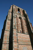 Tower. Unfinished old tower in Leeuwarden in the northern part of Holland Stock Photo