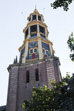 Tower of AA church, Groningen, the Netherlands stock images