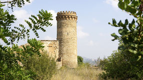 Tower abandoned castle Royalty Free Stock Images