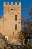 Tower of the Abbazia di Monteveglio Royalty Free Stock Photography