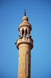 Tower above a church in Cairo. A tall tower above a church in Cairo, Egypt Royalty Free Stock Photo
