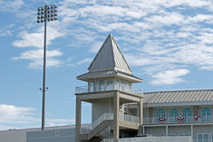 Tower Above Hammond Stadium Royalty Free Stock Images