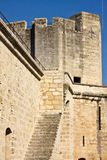 Tower in Aigues-Mortes Royalty Free Stock Images