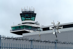 Tower at the airport Royalty Free Stock Photos