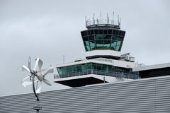 Tower at the airport Royalty Free Stock Image