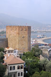 Tower of Alanya fortress Stock Photo