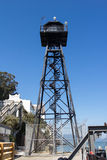 Tower on Alcatraz Royalty Free Stock Images