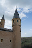 Tower of Alcazar castle in Segovia, Spain Royalty Free Stock Photography