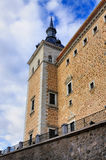 Tower of the Alcazar of Toledo Stock Photos