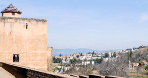 Tower of the Alhambra Stock Photography