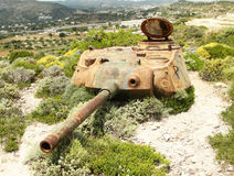 Tower of american tank Stock Photos