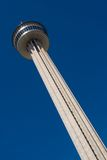 Tower of the Americas. Is a 750-foot (229 m) observation tower with a restaurant in San Antonio, Texas. Tower of the Americas, designed by San Antonio architect Royalty Free Stock Photo