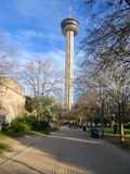 Tower Of The Americas in San Antonio, Texas. Tower Of The Americas is the tallest Building in San Antonio Texas stock images