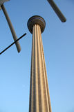Tower of americas in sunset. San Antonio, Texas Royalty Free Stock Images
