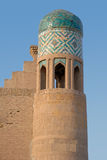 The tower in the ancient city of Ichan-kala Stock Photography