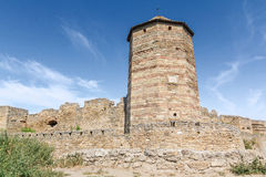 Tower of an ancient fortress Royalty Free Stock Photos