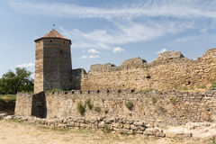 Tower of an ancient fortress. Belgorod-Dniester Royalty Free Stock Photos