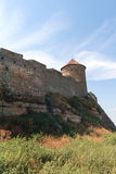 Tower of an ancient fortress Stock Photography