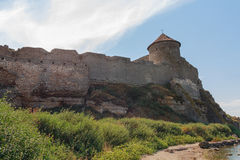 Tower of an ancient fortress Royalty Free Stock Images