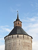 Tower of ancient monastery Royalty Free Stock Image
