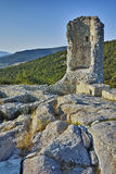 Tower in The ancient Thracian city of Perperikon,  Bulgaria Stock Photography