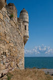 Tower of ancient turkish fortress. Stock Photo