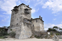 Tower of Andronikos, Ouranopoli Royalty Free Stock Images