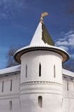 Tower of Andronnikov monastery Royalty Free Stock Photo