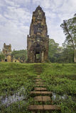 Tower in Angkor Thom Stock Photos