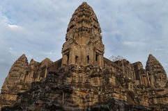 Tower of Angkor Wat Stock Photography