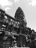 Tower of Angkor Wat Royalty Free Stock Images