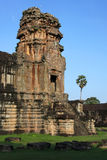 Tower in Angkor Wat Temple Royalty Free Stock Photography