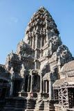 Tower of Angkor Wat Royalty Free Stock Photography