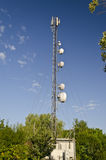 Tower of an antenna Royalty Free Stock Images