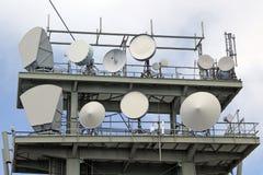 Tower antennas Stock Photos