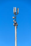 Tower with antennas of cellular communication Stock Images