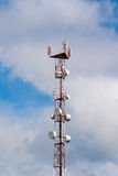 Tower antennas Stock Photo