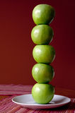 Tower of Apples Stock Photo