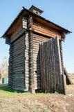 Tower of Aramashevsky jail. Nizhnyaya Sinyachikha Stock Image