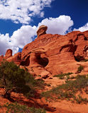 Tower Arch. Arches National Park, Utah, USA Royalty Free Stock Photo