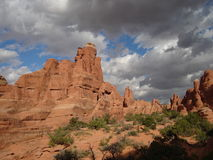 From Tower Arch Trail Royalty Free Stock Photography