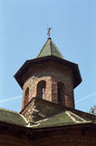 Tower architecture. Old Orthodox Church tower architecture, Prislop, Romania Royalty Free Stock Photos