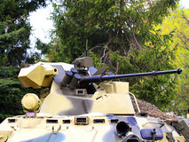 Tower of the armored personnel carrier Royalty Free Stock Photo