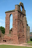 Tower From Arobroath Abbey, Scotland. Ruin of Arbroath Abbey, Sctoland where the declaration of Arbroath took place in 1320, gaining Scotland's independence from Royalty Free Stock Images