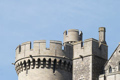 Tower on Arundel Castle. Sussex. UK Royalty Free Stock Images