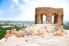 Tower of Ateshkadeh-ye Zoroastrian Fire Temple Stock Photography