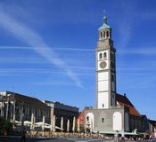 Tower in Augsburg Stock Photos