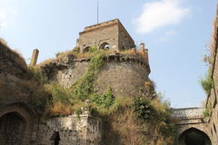 Tower of Ausa Fort. Watch tower of Land fort of Ausa in Latur district, Maharashtra Stock Photography